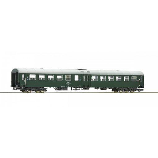 Roco 64668 Személykocsi, négytengelyes középajtós 2. osztály, zöld, ÖBB (E4)
