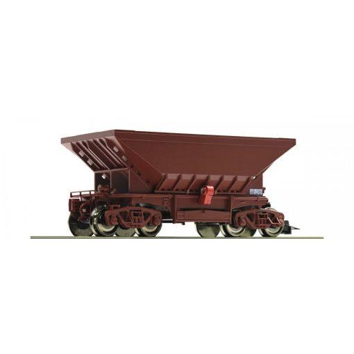 Roco 66285 Önürítős vasércszállító négytengelyes teherkocsi, végzárvilágítással,