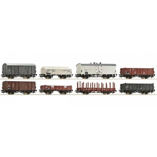 Roco 67128 Teherkocsi készlet, 8 db, NS (E3)