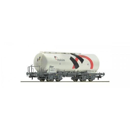 Roco 67449 Poranyagszállító négytengelyes tartálykocsi, Holcim, SBB (E6)