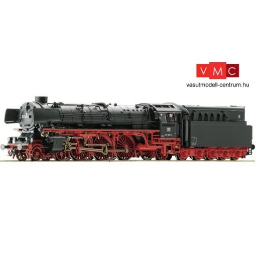 Roco 72137 Gőzmozdony BR 012 080, olajszerkocsival, DB (E4) - Sound