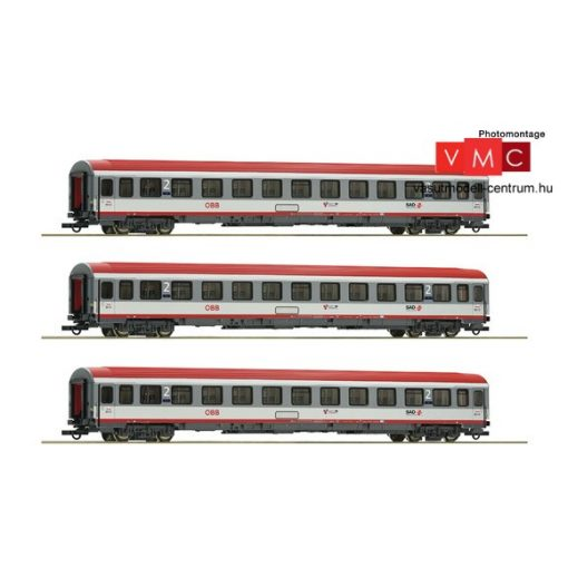 Roco 74132 3-tlg. Set: Regionalexpress Innsbruck-Bozen, ÖBB