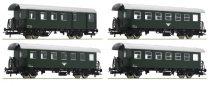 Roco 74162 Személykocsi-készlet, 4-részes Spantenwagen, ÖBB (E4) (H0)