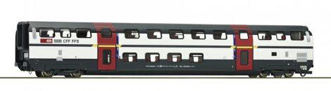 Roco 74500 Emeletes négytengelyes személykocsi, IC 2000, A 1. osztály, SBB (E6) (H0)