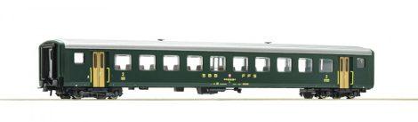 Roco 74562 Személykocsi, négytengelyes gyorsvonati EW II típus, 2. osztály, SBB (E4)