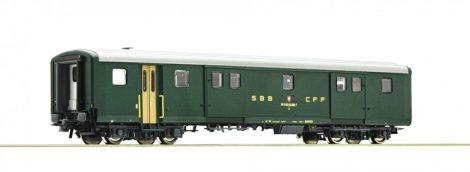 Roco 74564 Poggyászkocsi, négytengelyes gyorsvonati EW II típus, SBB (E4)