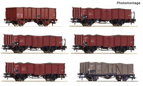 Roco 75945 12-tlg. Display: Kokstransport, DB, CFL, SNCF