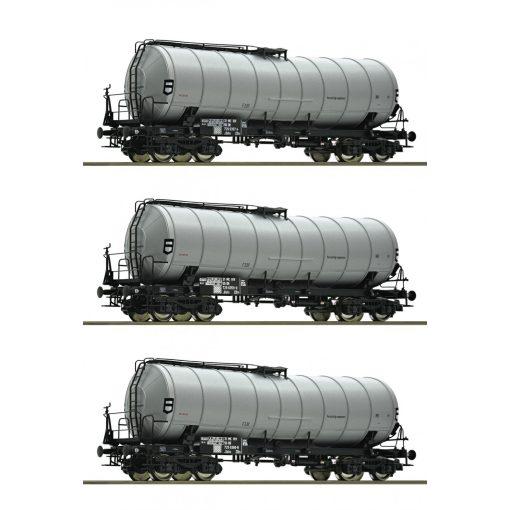 Roco 76155 Tartálykocsi-készlet, 3-részes, DR (E4)