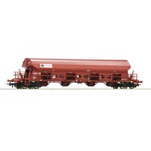 Roco 76412 Önürítős billenthető tetejű négytengelyes teherkocsi, Tadns, ERMEWA (E6) (H0)