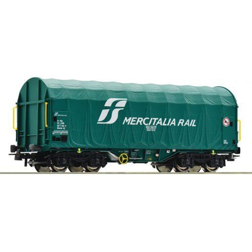 Roco 76449 Ponyvás négytengelyes teherkocsi, Shimms, Mercitalia Rail / FS (E6)