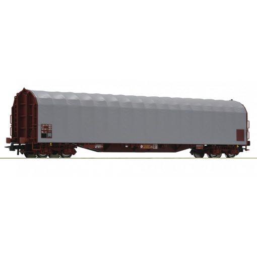 Roco 76471 Ponyvás négytengelyes teherkocsi, barna/szürke, SNCF (E6)