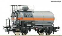 Roco 76511 Klórszállító tartálykocsi fékállással, VTG, DB (E4) (H0)