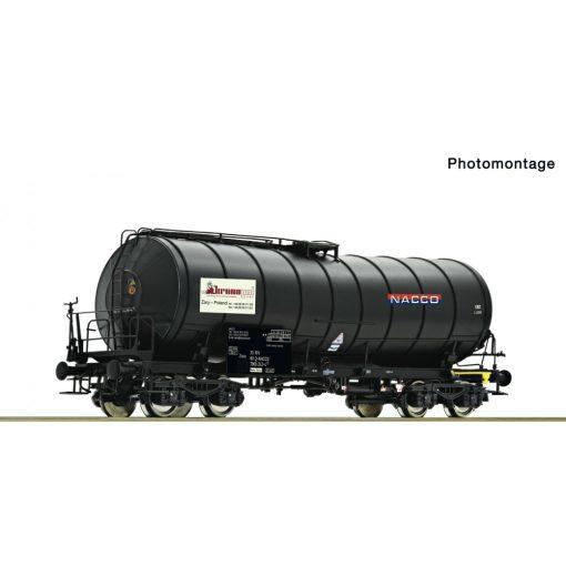 Roco 76538 Tartálykocsi fékállással, négytengelyes Zaes, NACCO (E5)