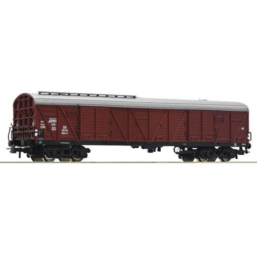 Roco 76552 Fedett négytengelyes teherkocsi, GGths, DB (E3) (H0)
