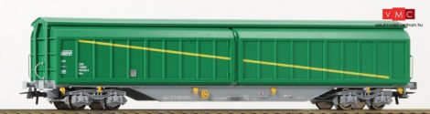 Roco 76715 Eltolható oldalfalú négytengelyes teherkocsi, Habiss, Renfe (E5)