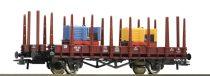 Roco 76771 Rakoncás teherkocsi, 2 db bányavasúti mozdony rakománnyal, DB (E3)