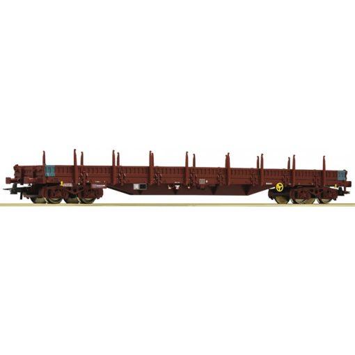 Roco 76980 Rakoncás négytengelyes alacsony oldalfalú teherkocsi, Res, Infrabel (E6)