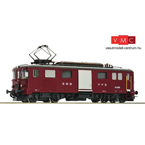 Roco 78656 Poggyászteres villamos motorkocsi De 4/4, piros, SBB (E3-4) - AC