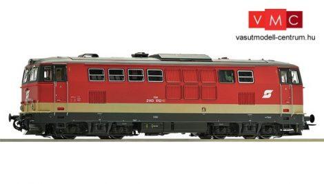 Roco 78721 Dízelmozdony 2143 008, ÖBB