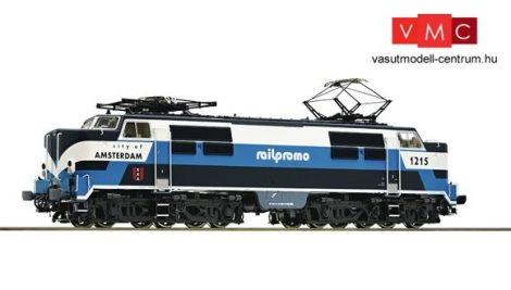 Roco 79835 Villanymozdony 1215, Railpromo
