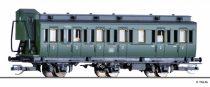 Tillig 13151 Oldalfellépős háromtengelyes személykocsi fékházzal, 2. osztály, DB (E3) (T