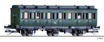 Tillig 13152 Oldalfellépős háromtengelyes személykocsi, 2. osztály, DB (E3) (TT)