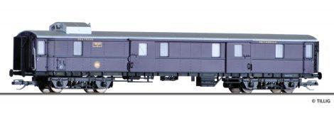 Tillig 13393 Poggyászkocsi, négytengelyes Rheingold-Express, DRG (E2) (TT)