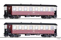 Tillig 13982 Személykocsi-pár, négytengelyes KB, HSB (E5-6) (H0m)