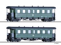 Tillig 13994 Személykocsi-pár, négytengelyes KBD4i, H0m, DR (E3)