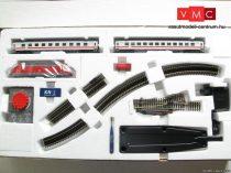 Tillig 1408 Analóg kezdőkészlet: BR 101 villanymozdony, 2 db személykocsi, modellsínnel (T