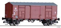 Tillig 14880 Fedett sátortetős teherkocsi G, DR (E3) (TT)