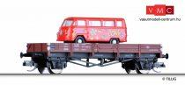 Tillig 14924 Alacsony oldalfalú teherkocsi, Matador busz rakománnyal - Flower Power, DB (E4)