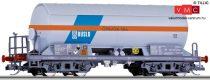 Tillig 15007 Gázszállító négytengelyes tartálykocsi Zagks, napfénytetővel, DUSLO (SK) (