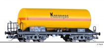 Tillig 15011 Gázszállító négytengelyes tartálykocsi, Kosangas, DSB (E4)