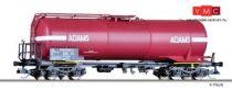 """Tillig 15483 Tartálykocsi, négytengelyes Uahs, """"ADAMS Transciterne S.A."""", SNCF (E4)"""