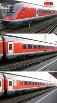 Tillig 1598 Személykocsi készlet, 3 részes, DB-AG (TT)