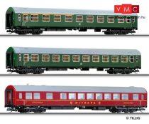 Tillig 1600 Személykocsi készlet, 3 részes Y sorozat, DR (TT)