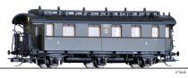 Tillig 16042 Személykocsi, háromtengelyes 2./3. osztály, DRG (E2) (TT)