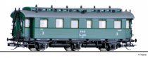 Tillig 16048 Személykocsi, háromtengelyes Ciy, 3. osztály, CSD (E3) (TT)