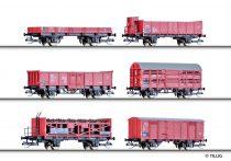 Tillig 1645 Teherkocsi-készlet (6-részes), CSD (E3) (TT)