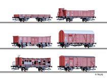 Tillig 1646 Teherkocsi-készlet, 6-részes, PKP (E3)