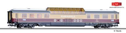 Tillig 16551 Kilátókocsi, négytengelyes Adm 101, 1. osztály, Rheingold, DB (E4)