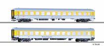 Tillig 1686 Vasútüzemi négytengelyes személykocsi-pár - mérővonat, DB-AG (E6)