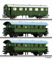 Tillig 1689 Személykocsi-készlet, 3-részes Donnerbuchse, DRG (E2)