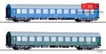 Tillig 1696 Személykocsi-pár, négytengelyes Y-sorozat, 2. osztály, Balt-Orient Express 4, C