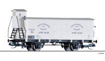 Tillig 17374 Hűtőkocsi fékházzal, Drentsche Boterverkoop Vereeniging, NS (E2)