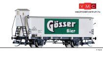 Tillig 17393 Hűtőkocsi fékházzal, Gösser Bier, ÖBB (E2) (TT)