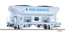 """Tillig 17520 Önürítős teherkocsi Fcs, """"RSB Logistic"""", Dürener Kreisbahn (E5)"""