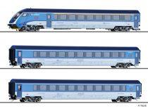 Tillig 1754 Személykocsi-készlet, 3-részes CD Railjet, vezérlőkocsival, CD (E6)