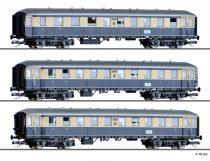 Tillig 1757 Karwendel-Express személykocs-készlet, 3-részes DRG (E2)